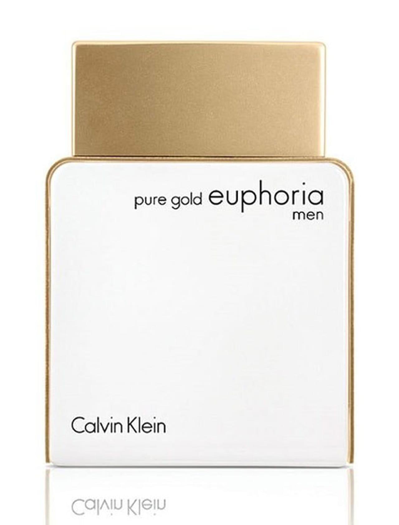 f53fb03ac عطرا Pure Gold Euphoria من كالفن كلاين لكِ وله