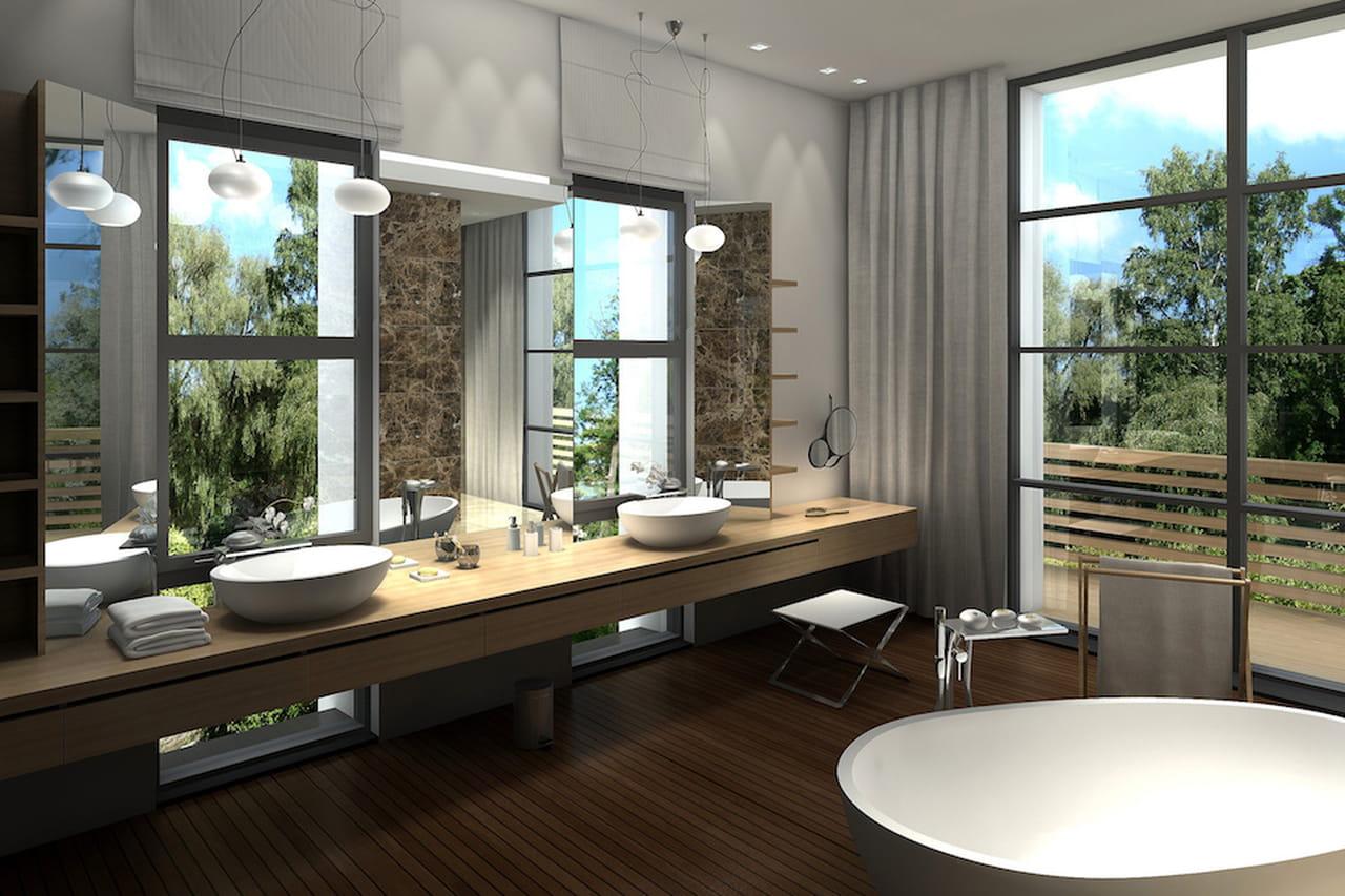 bagno moderno: estetico e funzionale - Bagni Moderni Con Vasca Idromassaggio