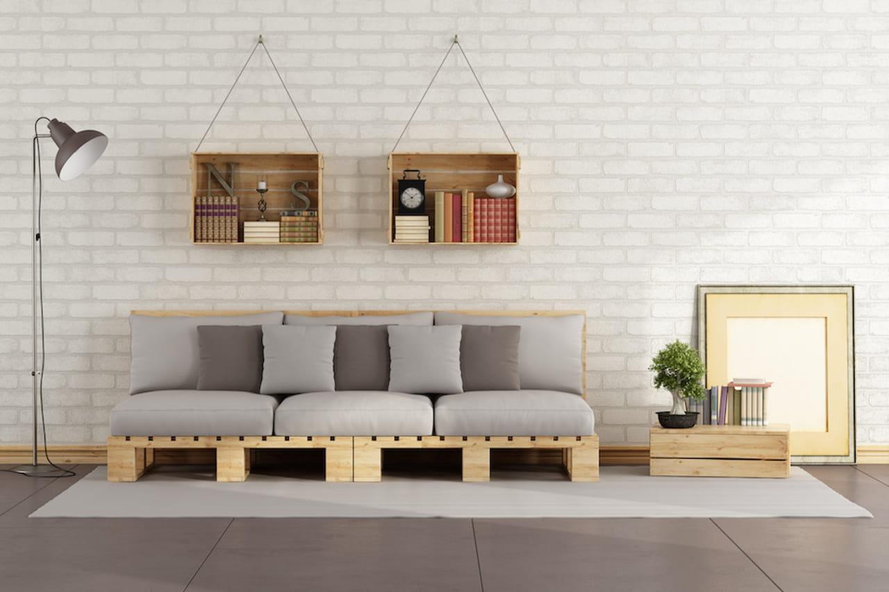 Mobili fai da te arredare casa con il riciclo for Idee arredamento soggiorno fai da te