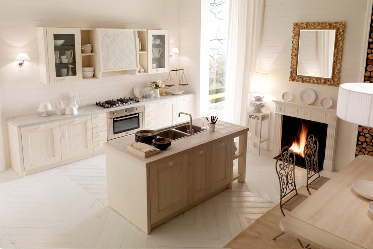 Cucina in muratura la tradizione personalizzata - Cucina muratura moderna ...