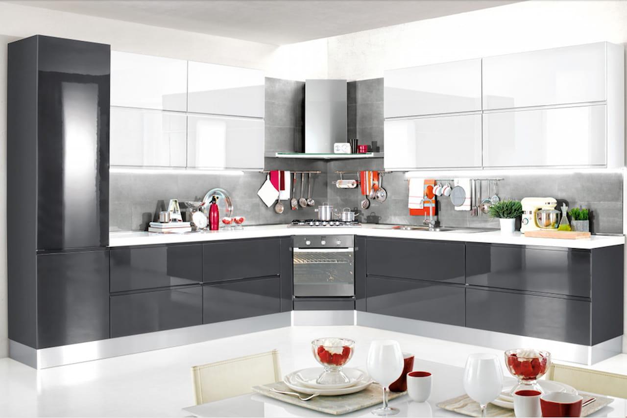 Perfect alice il modello di cucina pura lineare e bicolor - Isole per cucina mondo convenienza ...