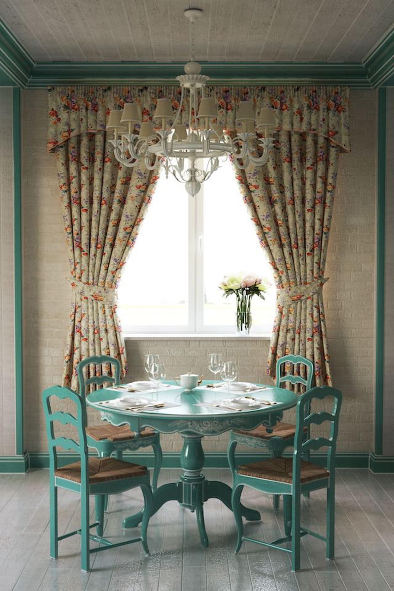 Tende shabby 10 idee per camera da letto salone o cucina - Tende per mobili da cucina ...