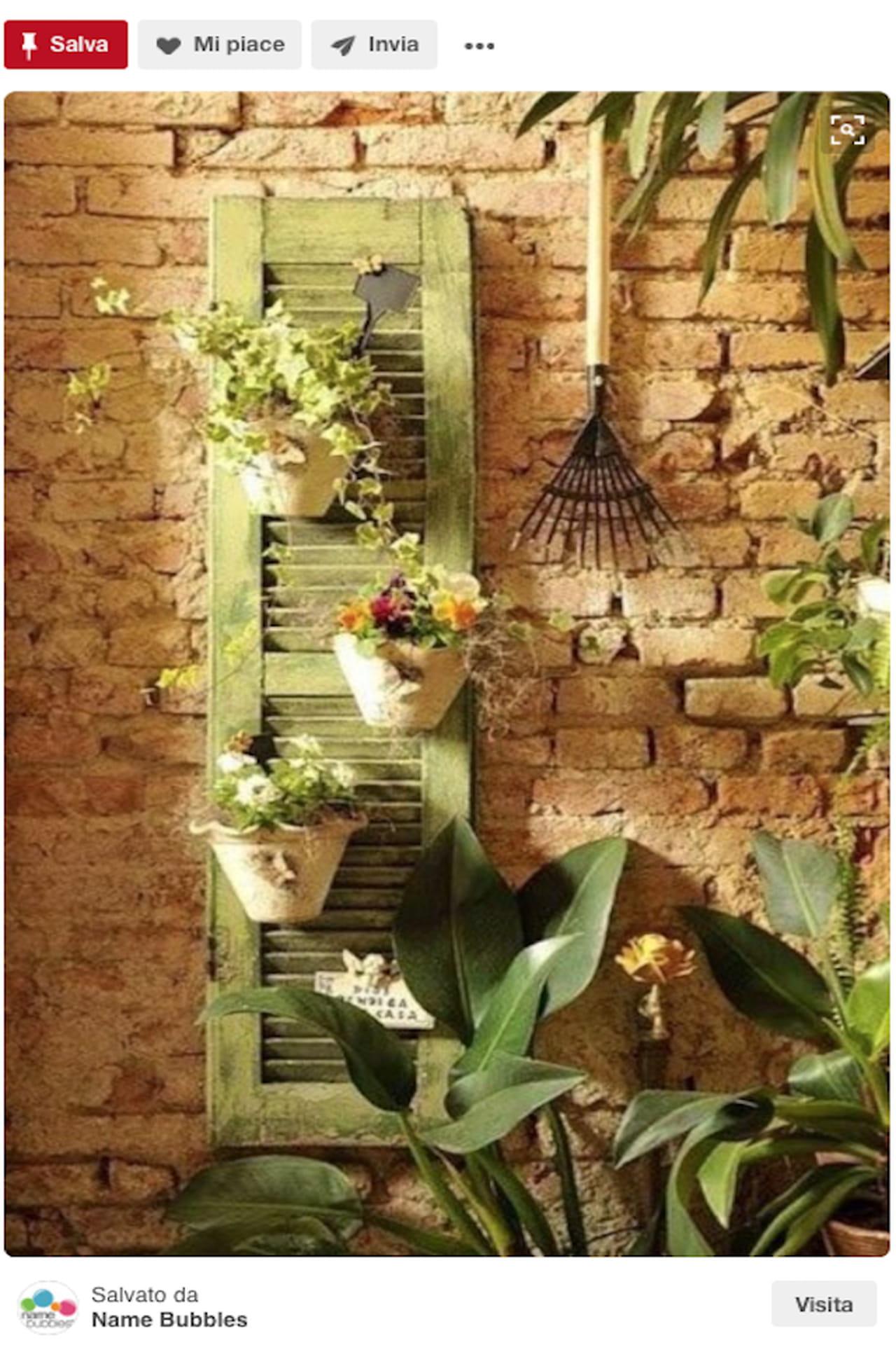 Creazioni fai da te idee giardino da pinterest - Vialetto giardino fai da te ...
