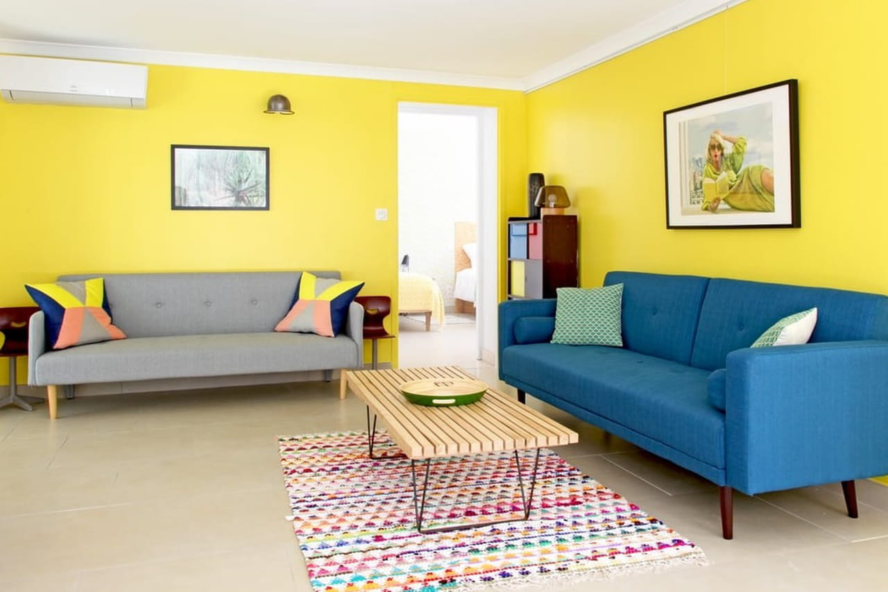 Inspire Se 15 Ambientes Com Decora O Amarela -> Cor De Parede Para Sala Amarelo