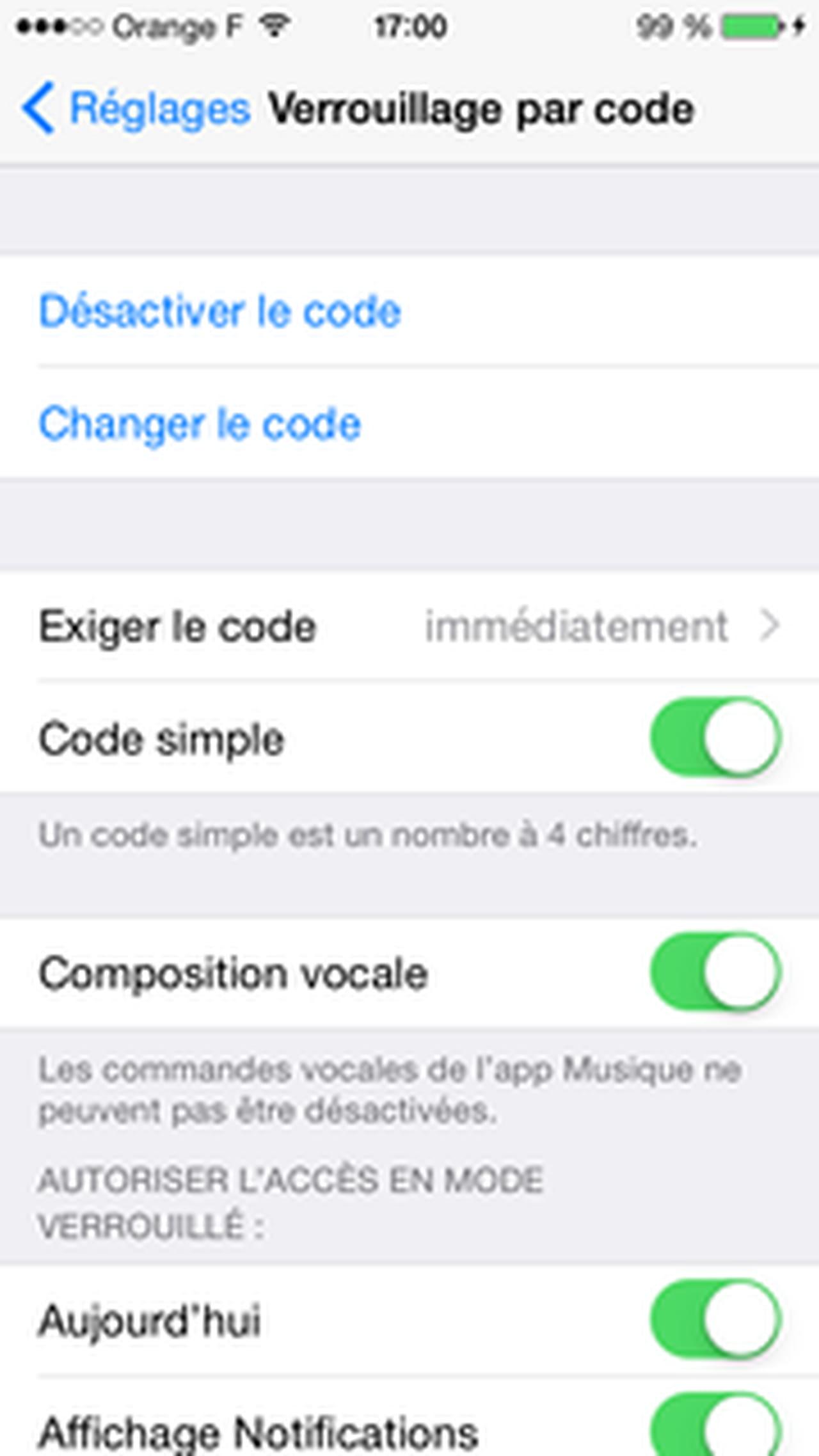 Comment changer son mot de passe sur iphone - Comment changer le code d un cadenas ...