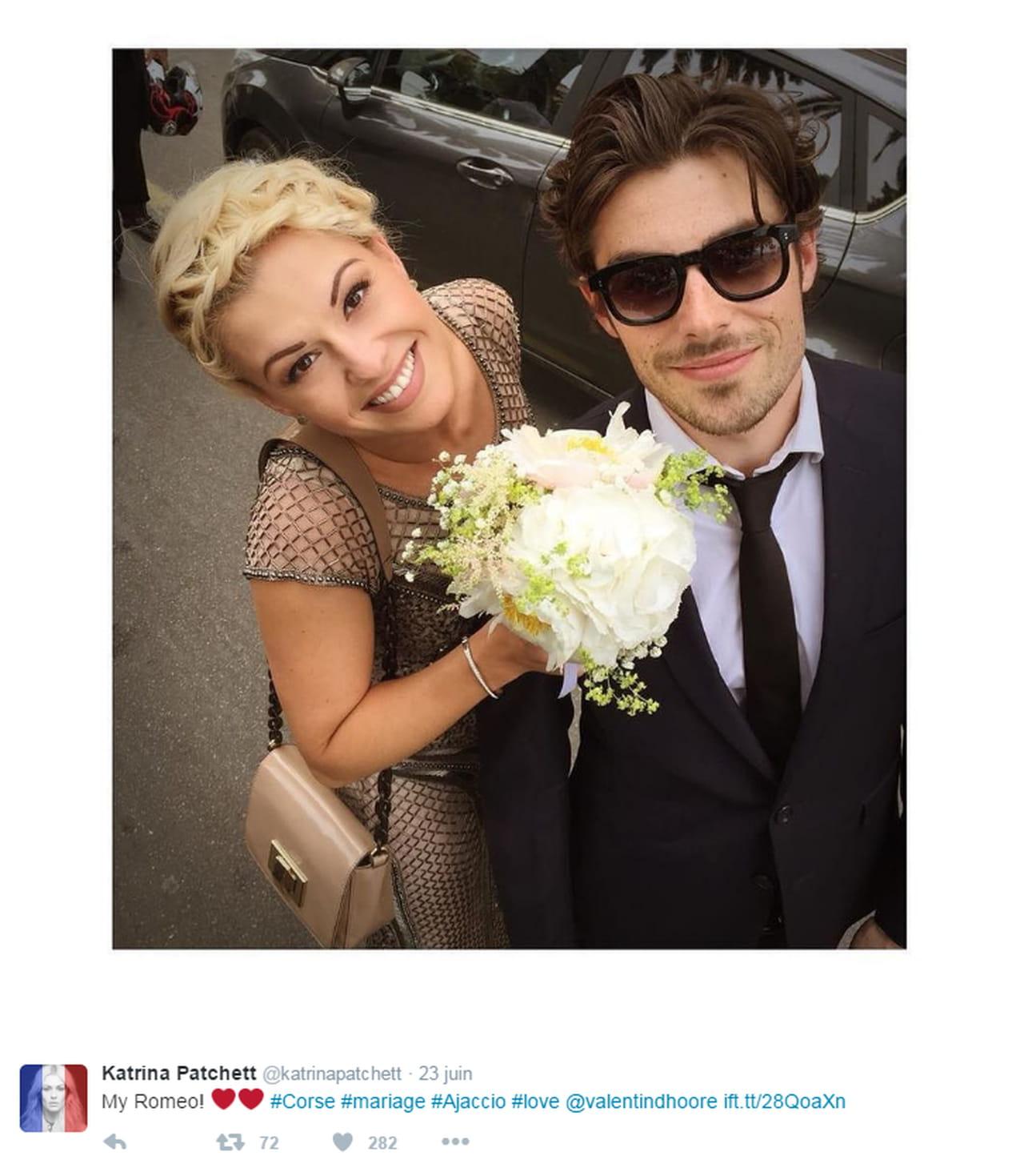 crdits comptes twitter de denitsa ikonomova grgoire lyonnet katrina patchett et maxime dereymez - Mariage Alizee