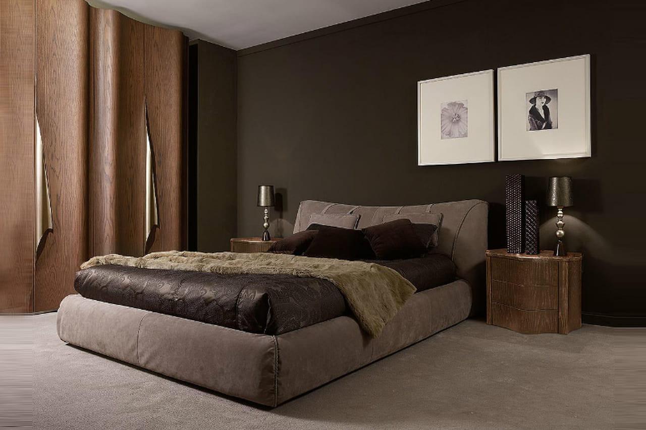 أحدث تصاميم غرف النوم المتألقة باللون الرمادي