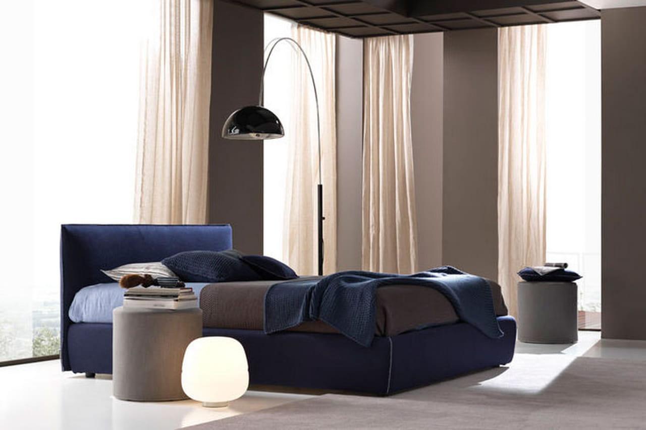 غرف نوم ساحرة باللون الأزرق