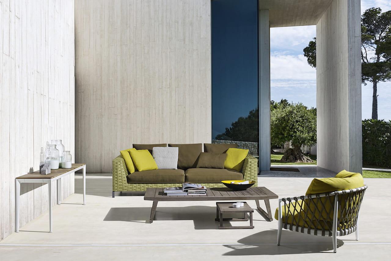 Arredamento outdoor mobili da esterno di design for Arredamento outdoor