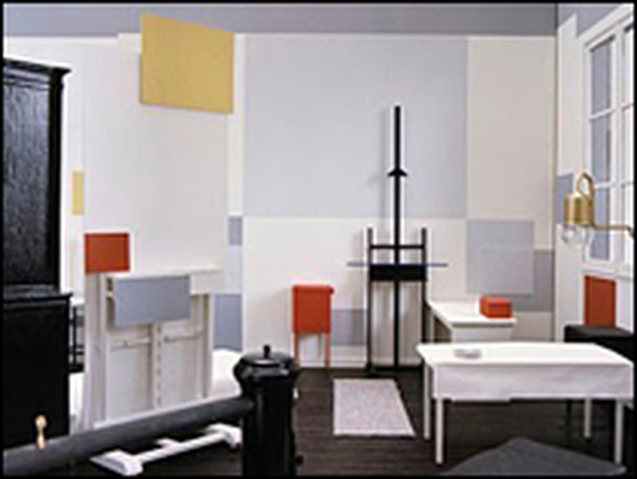 Mondrian ou la peinture comme absolu - Schorsing stijl atelier ...