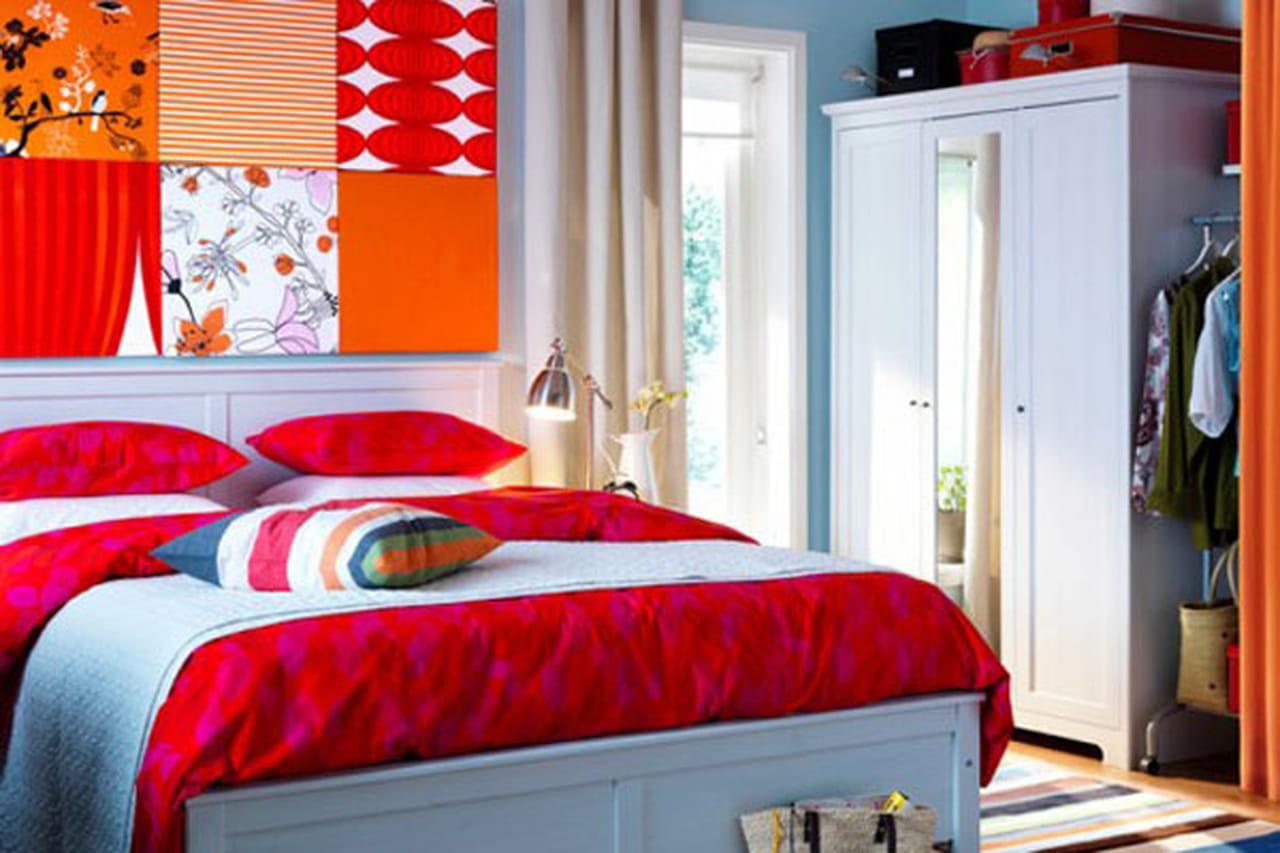 غرف نوم ايكيا IKEA .. الجمال والأناقة في ديكورات غرف النوم