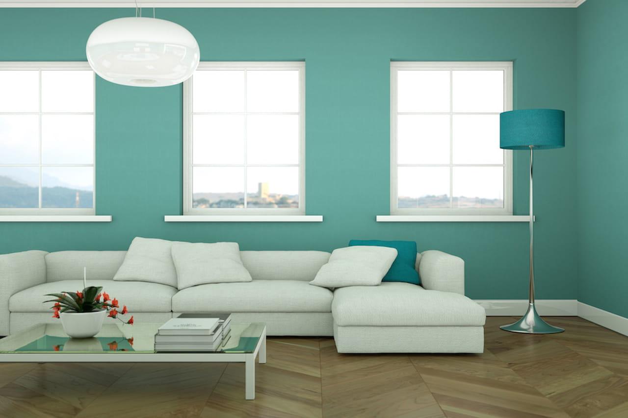 Pareti colorate pareti colorate casa moderna with pareti for Immagini pareti colorate soggiorno
