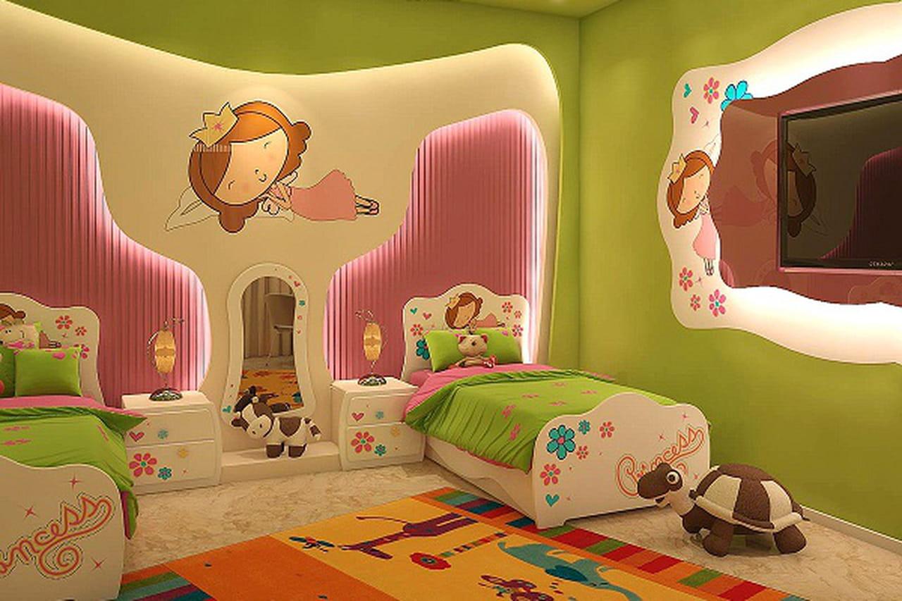 بالصور: غرف نوم اطفال للفتيات