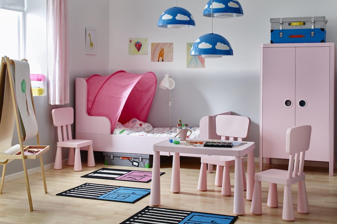Cameretta Ikea Rosa : Camerette ikea: proposte per neonati bambini e ragazzi