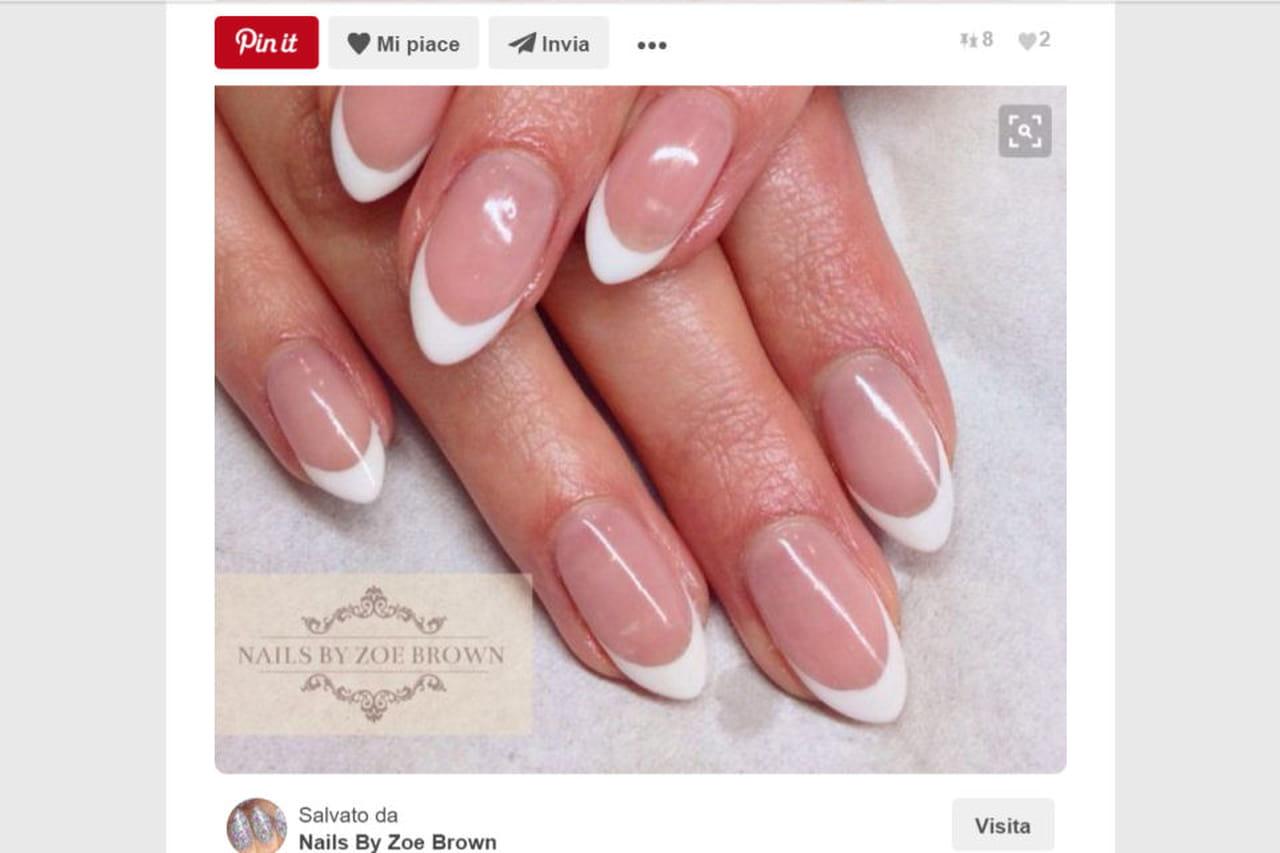 Ben noto Unghie a mandorla: le nail art adatte NU51