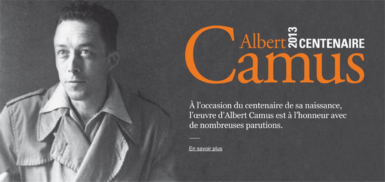 Centenaire Albert Camus Beaux Livres Et Correspondances