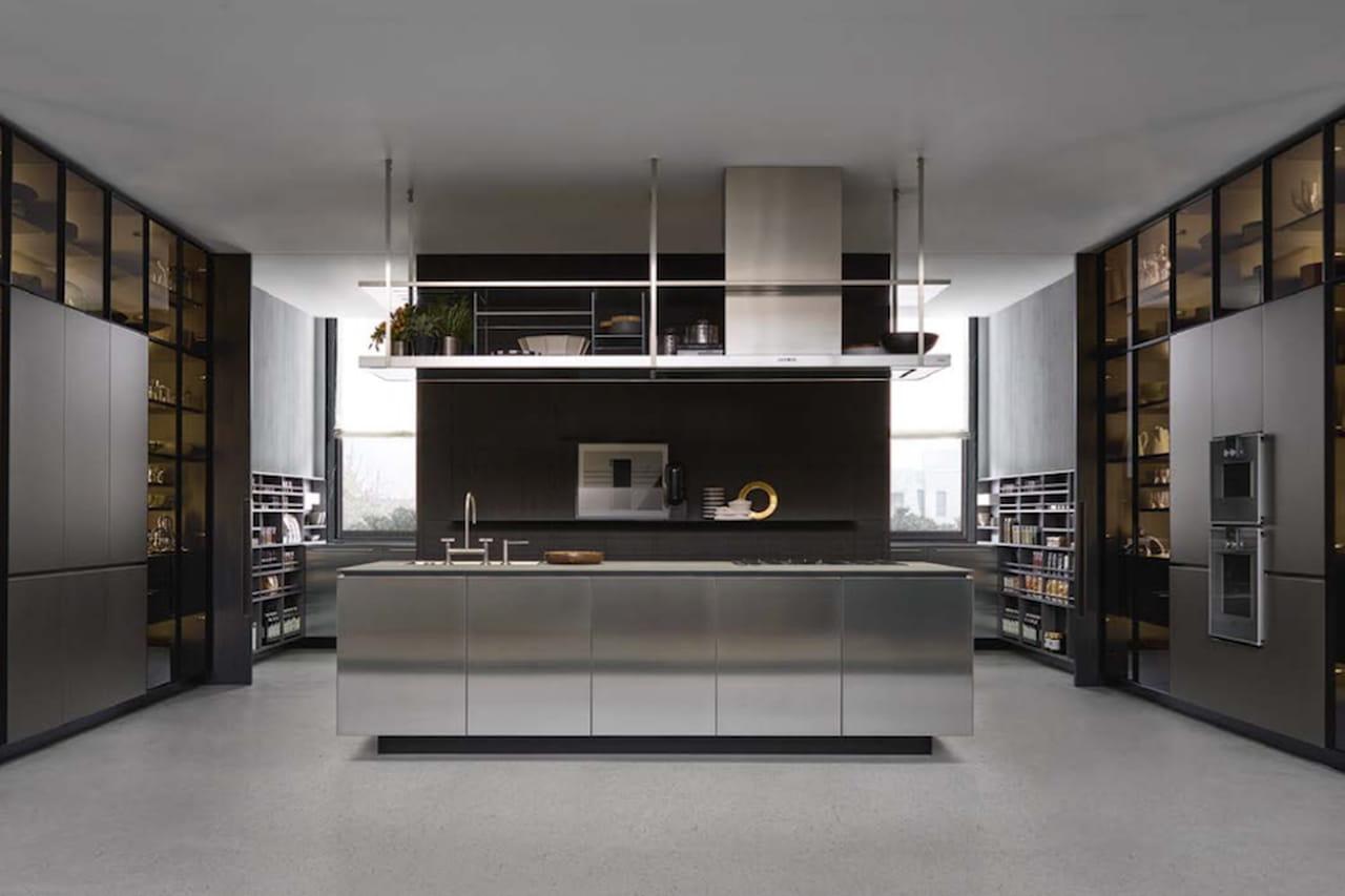 Cucine da sogno minimal vintage o glamour for Minimal cucine