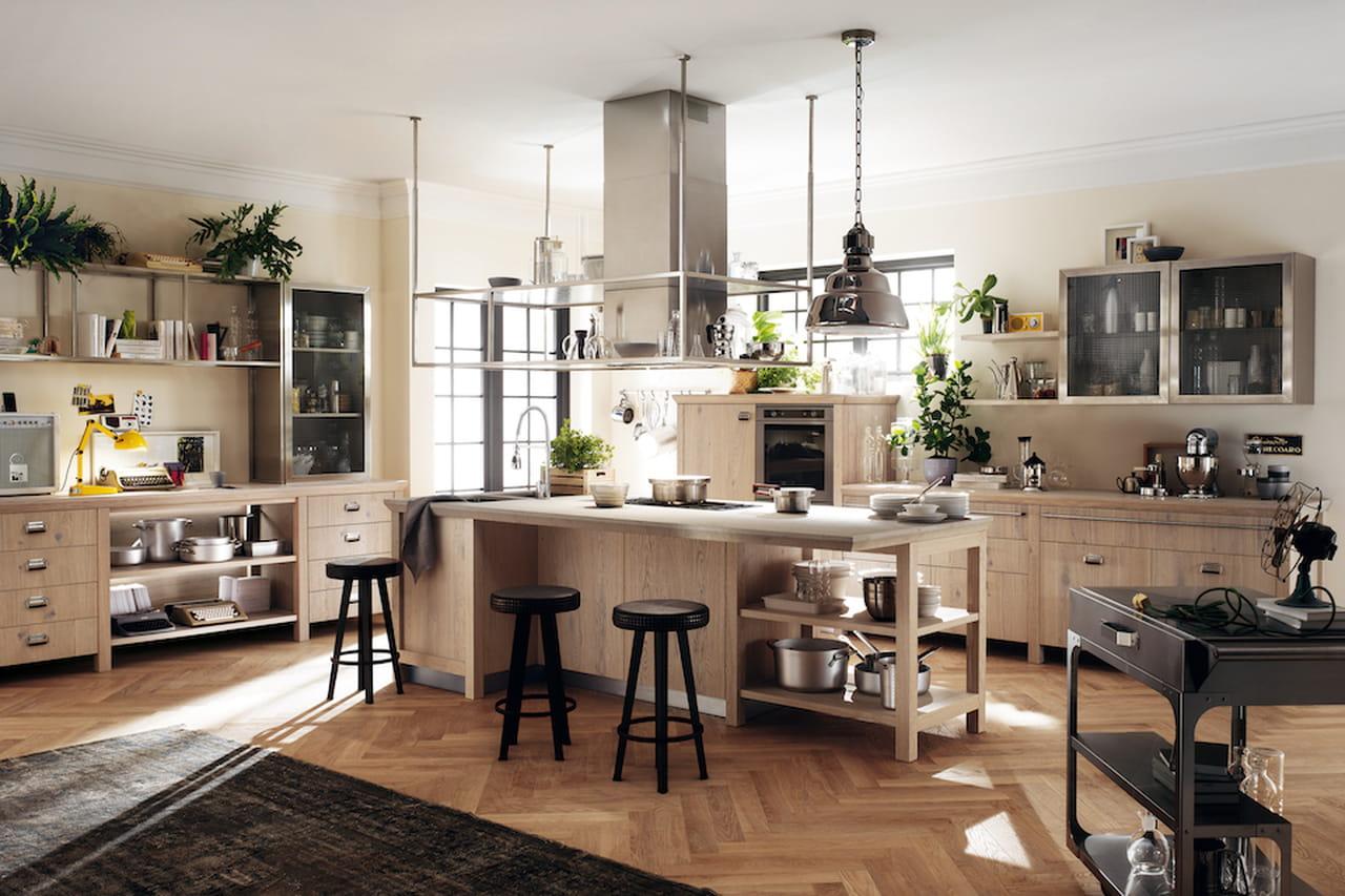 Cucine con isola la funzionalit a braccetto con l 39 estetica - Cucine con isola ...