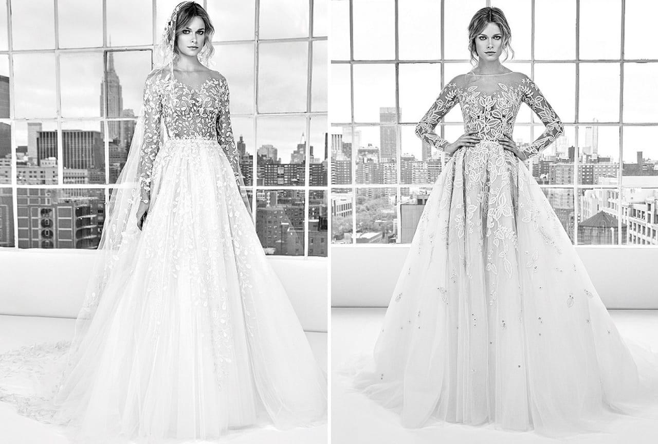 20ba40be87a52 بالصور  فساتين زفاف زهير مراد ربيع 2018