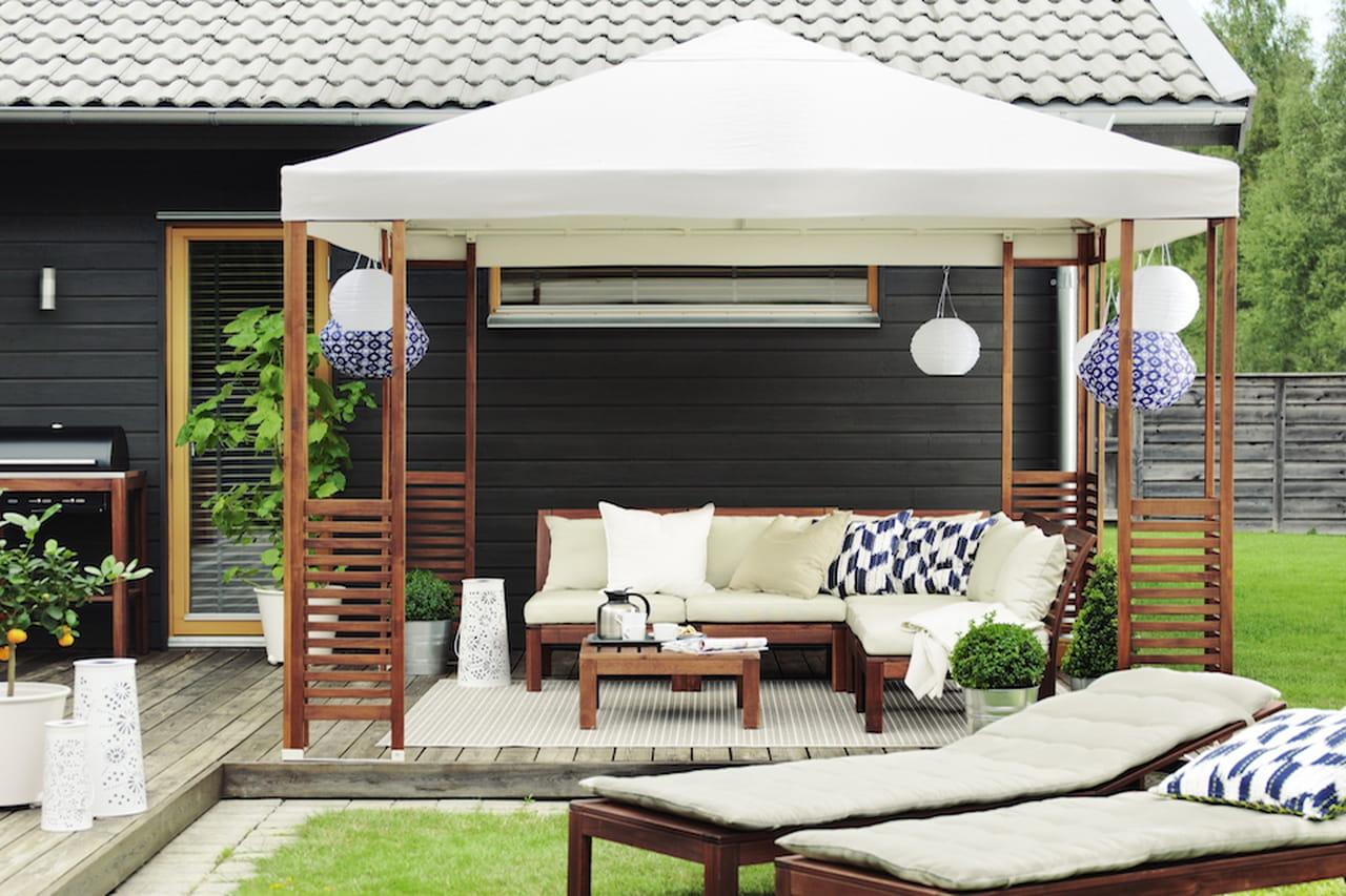 Ikea giardino 2017 outdoor conviviale - Gazebo giardino ikea ...