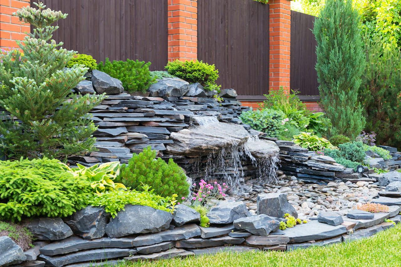 Cascata Giardino Fai Da Te : Giardini rocciosi fai da te