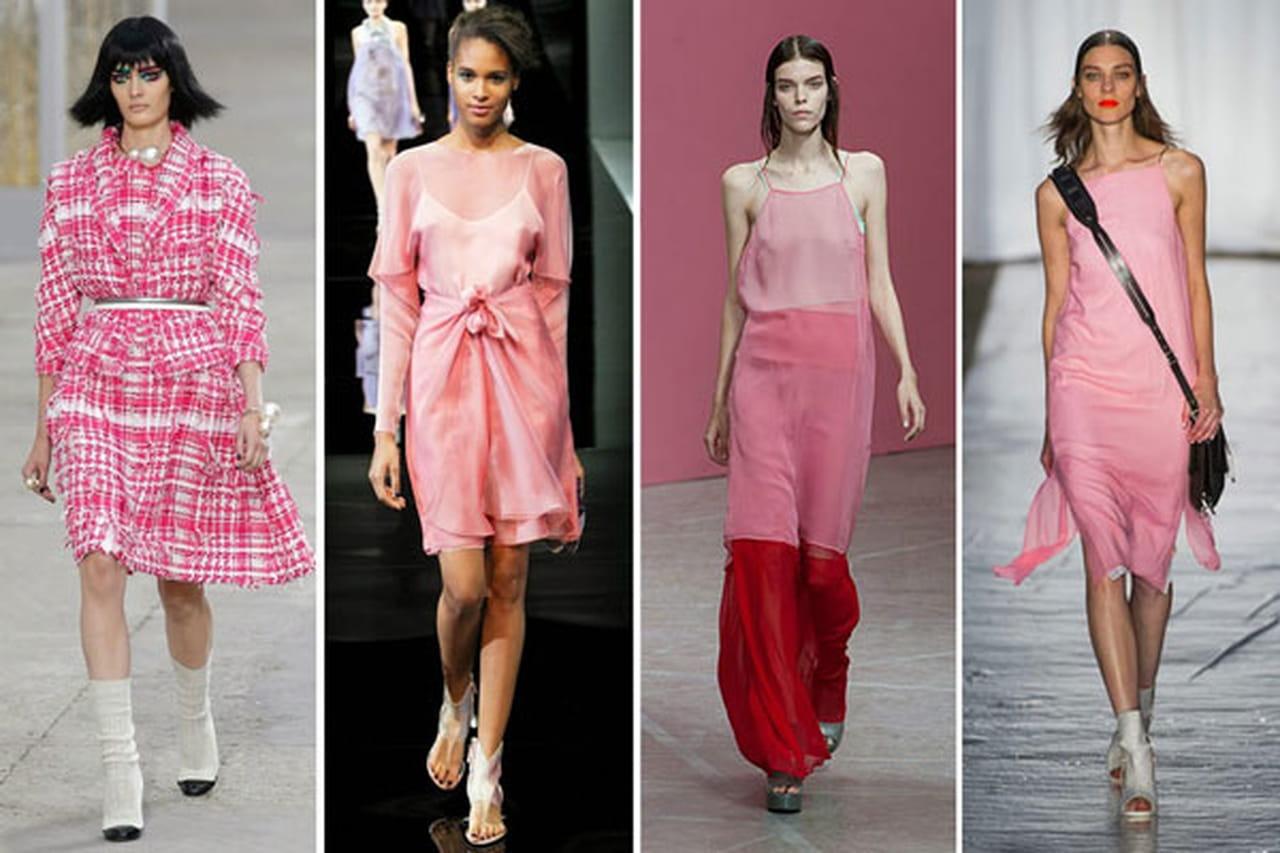17e155fe107cf نصائح هامة قبل أن ترتدي اللون الوردي الأنثوي