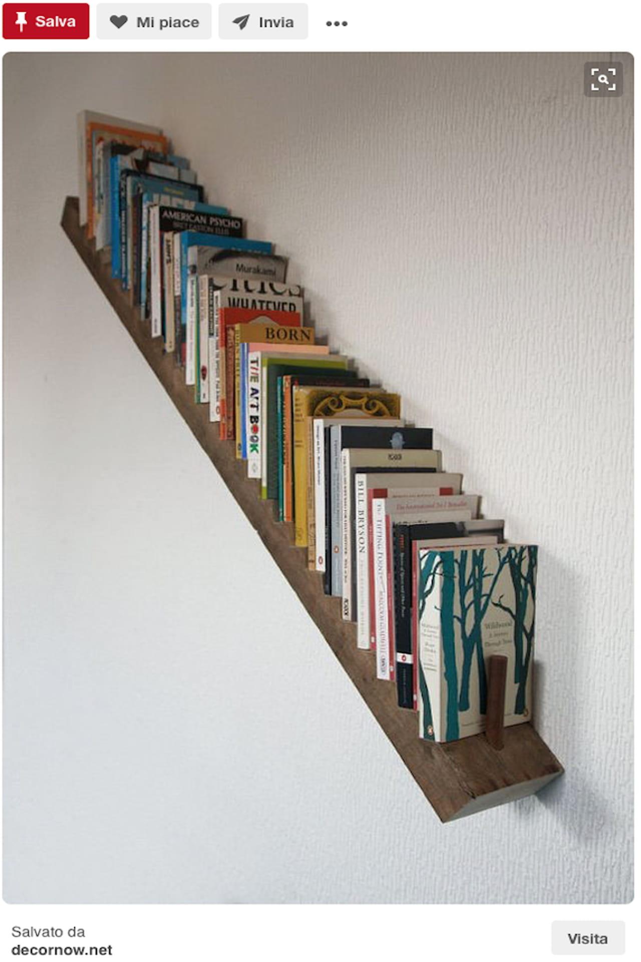 Scaffali fai da te riciclo qn31 regardsdefemmes for Scaffali libreria in legno