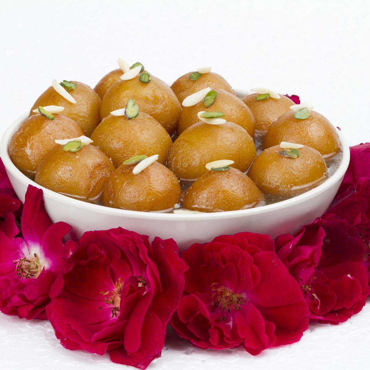 طريقة عمل حلوي هندية: جولاب جامون 2673577