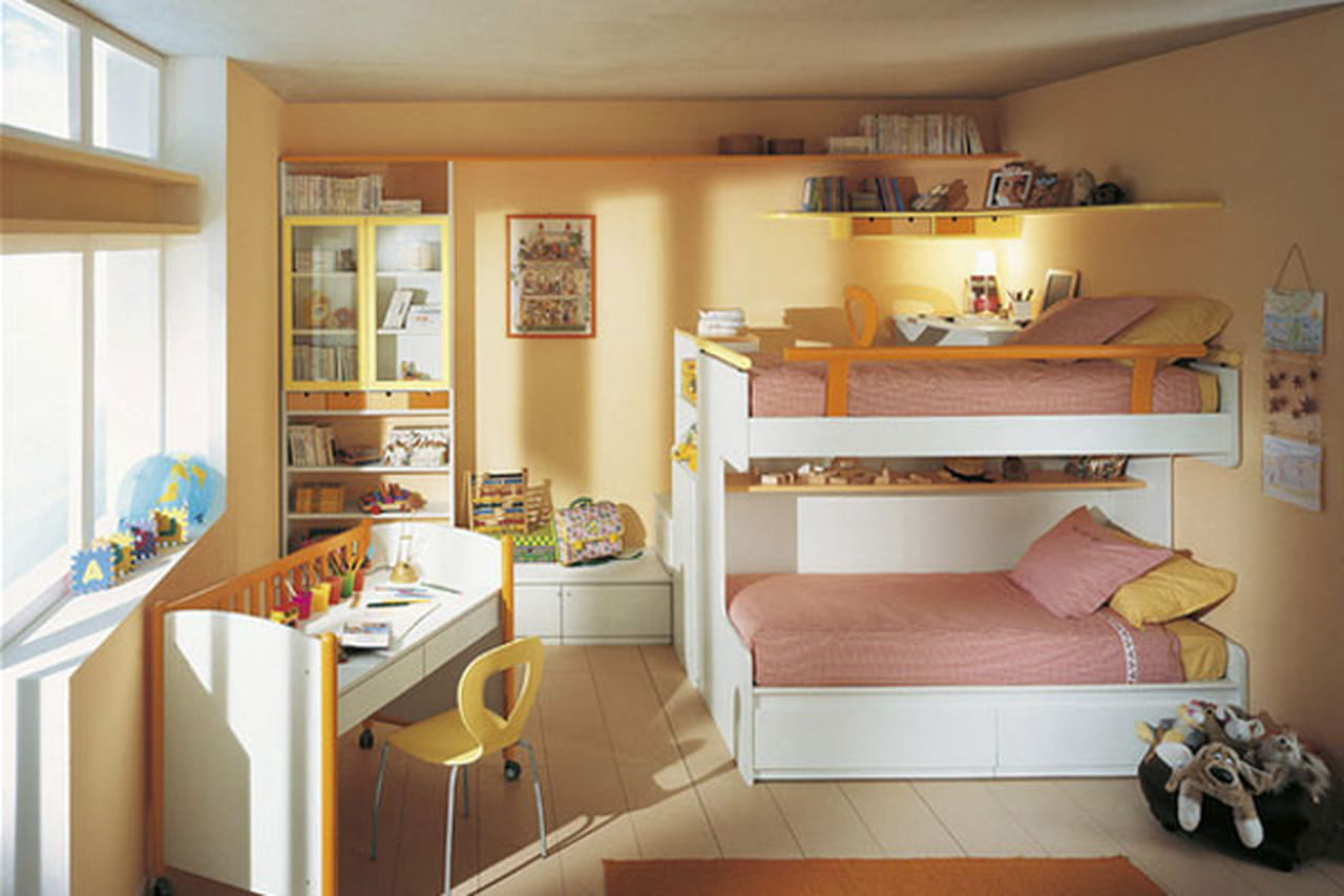 غرف نوم للبنات ذات ديكور أخاذ