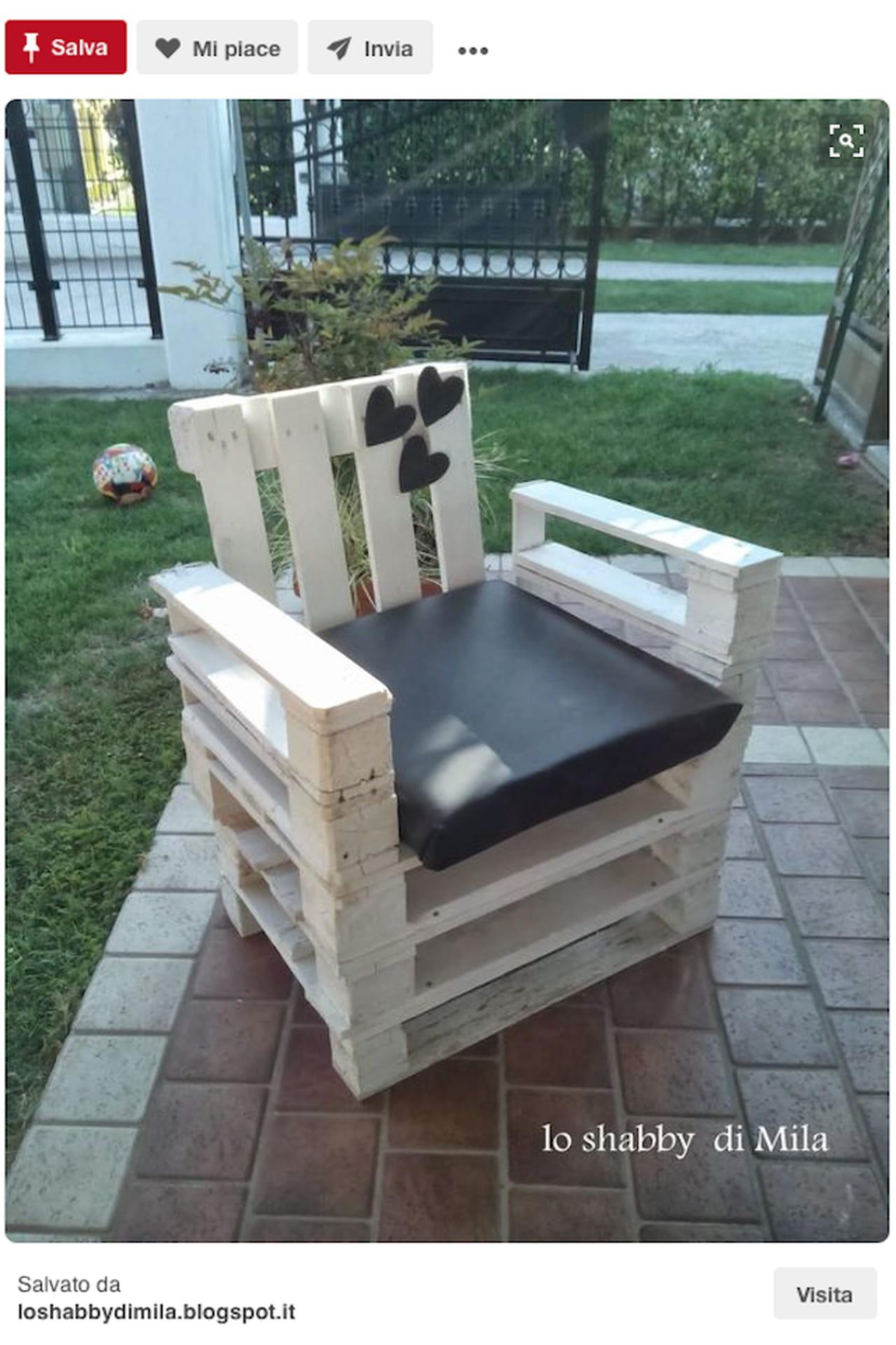 creazioni fai da te: idee giardino da pinterest - Mobili Da Giardino Idee Dipinte