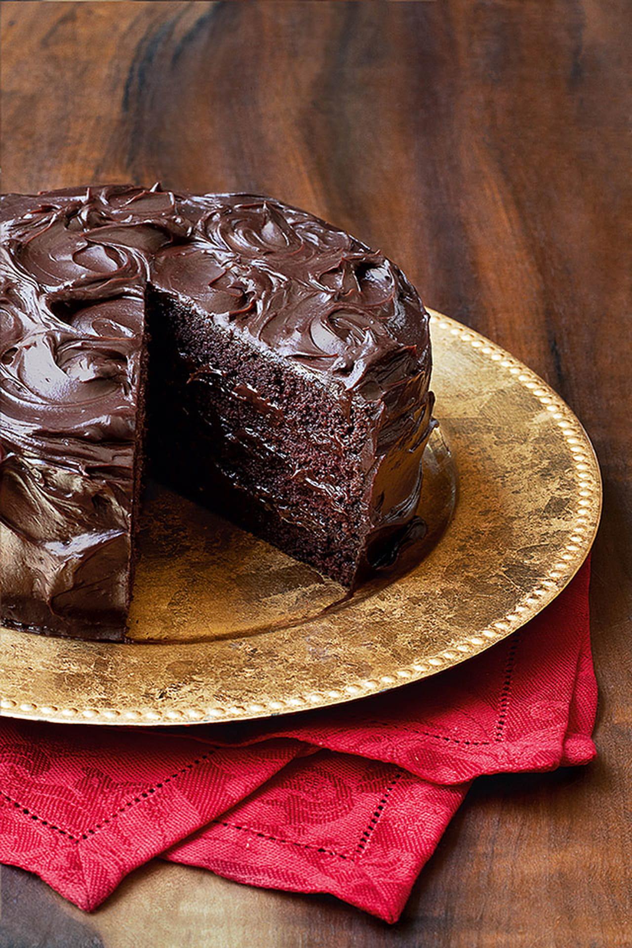 Sobremesas com chocolate