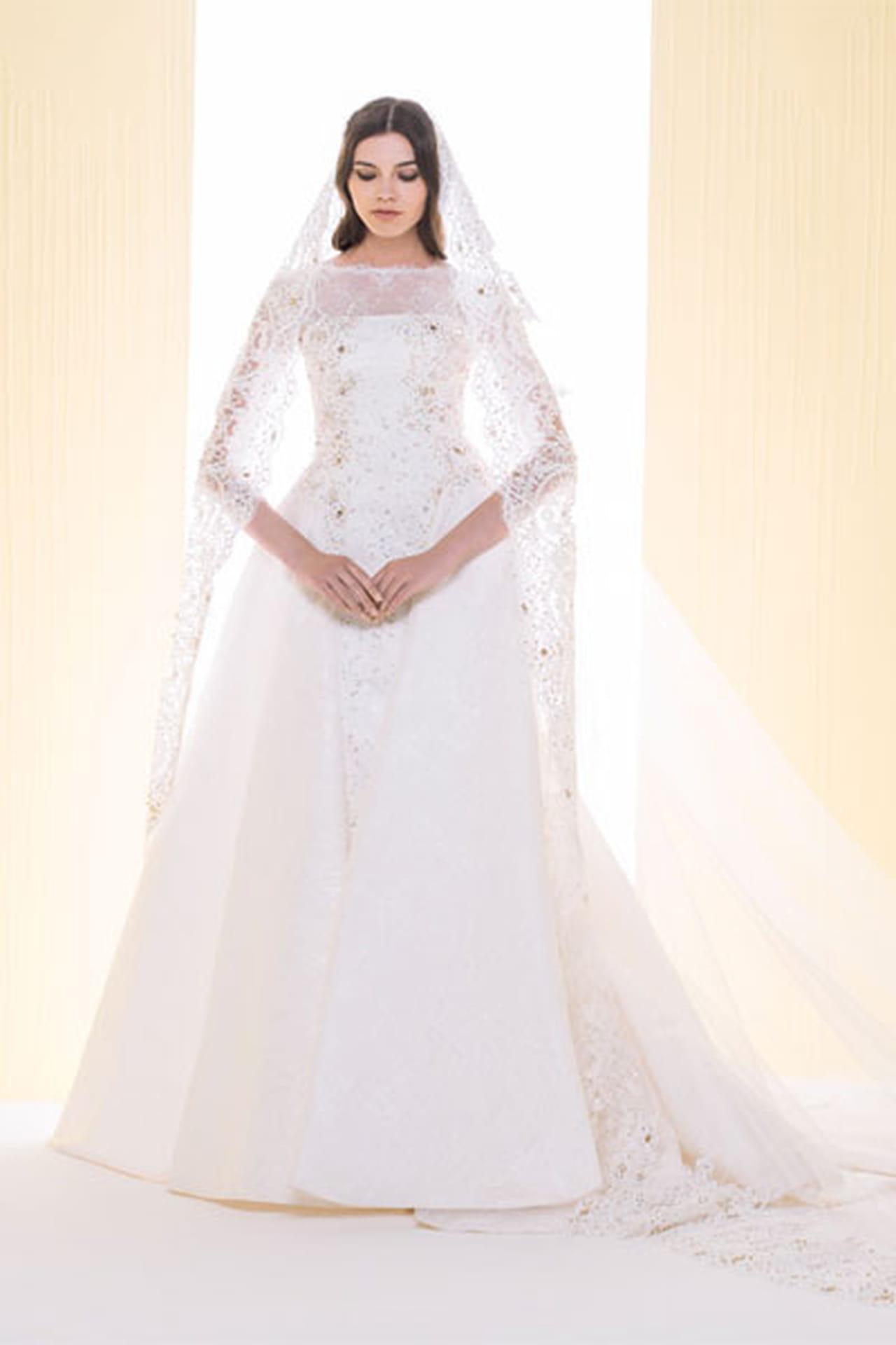 afaa8f4ba فساتين زفاف سعيد قبيسي 2016 - صورة رقم 8