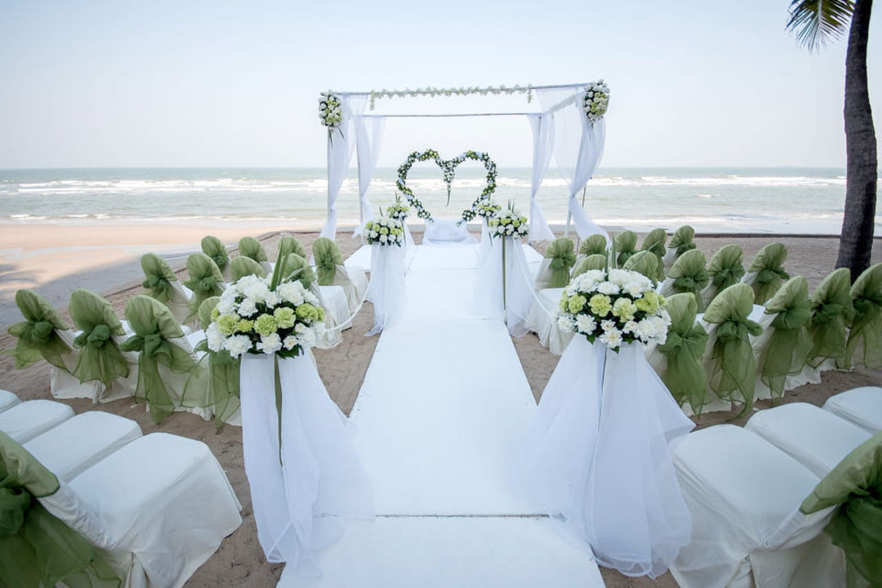 Matrimonio In Spiaggia Hawaii : Matrimonio in spiaggia alle maldive la prima chiesa nell