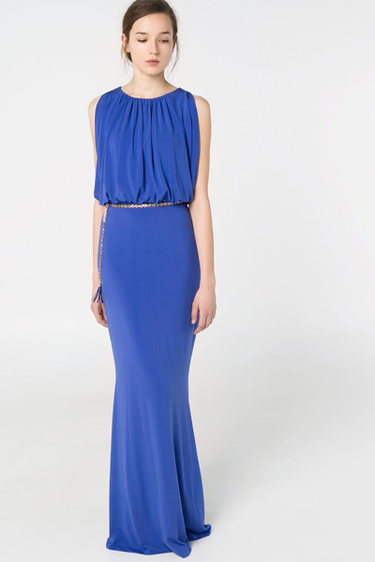 c4cf527a0 تشكيلة رائعة من الفساتين الطويلة من مانجو لربيع وصيف 2014