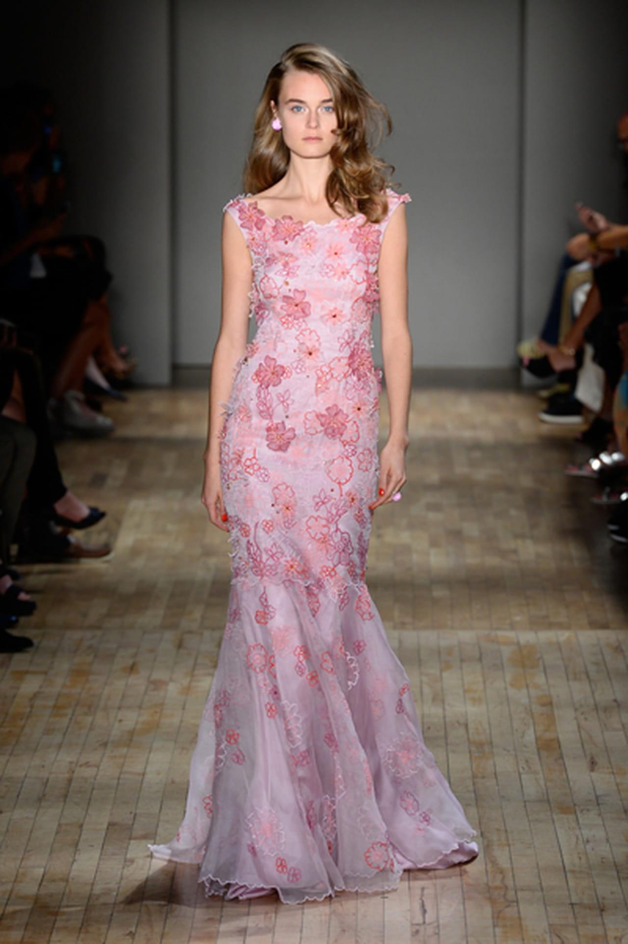 c399be449 اجمل فساتين وردية 2015 .. اللون المفضل لكل إمرأة رقيقة