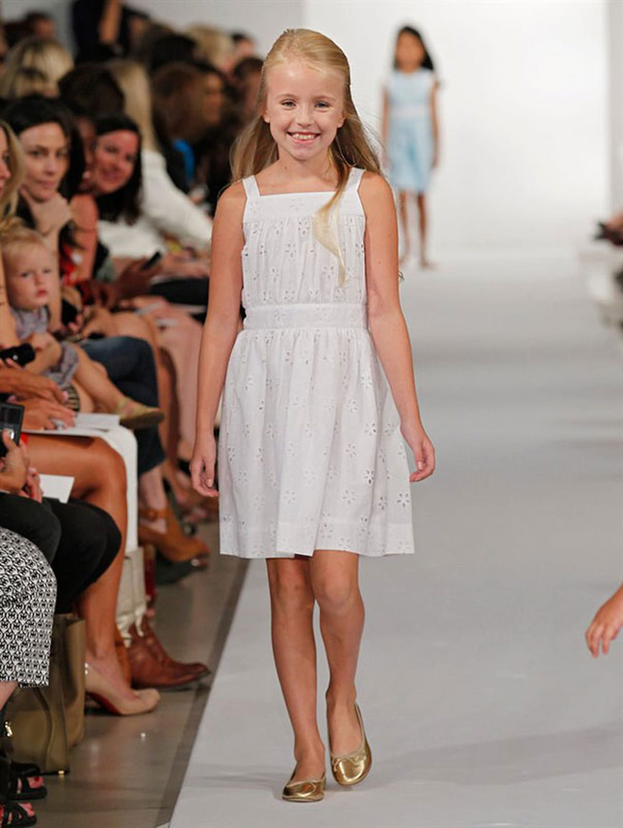 Oscar de la renta kids fashion show 96