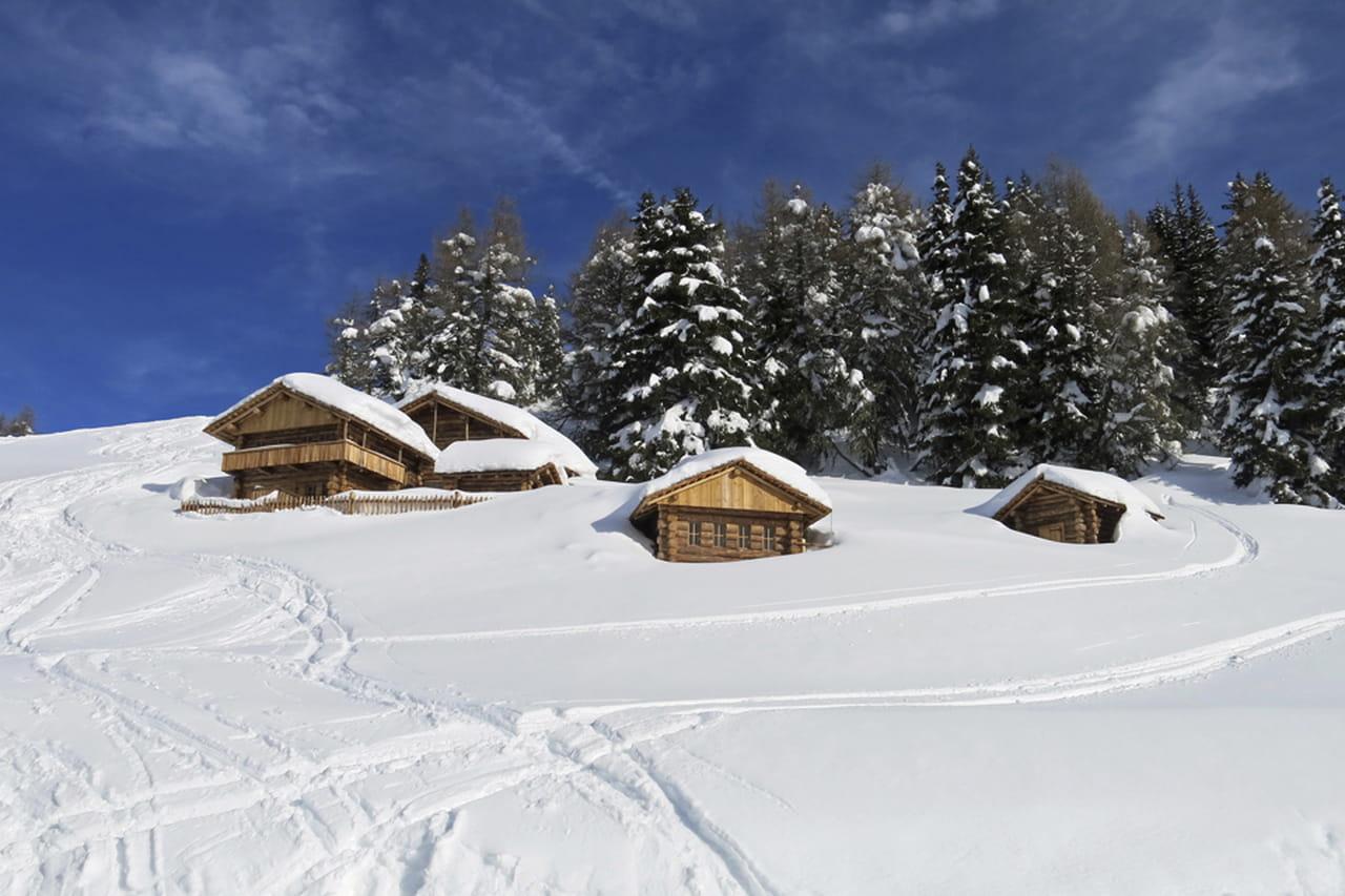 Natale vacanze in baita for Piccoli piani di baite