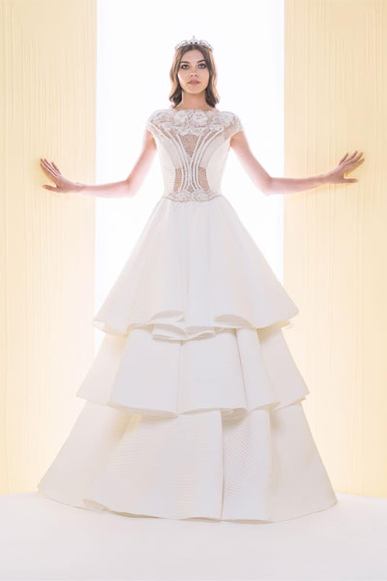 bb6ad995d أجمل فساتين زفاف سعيد قبيسي 2016