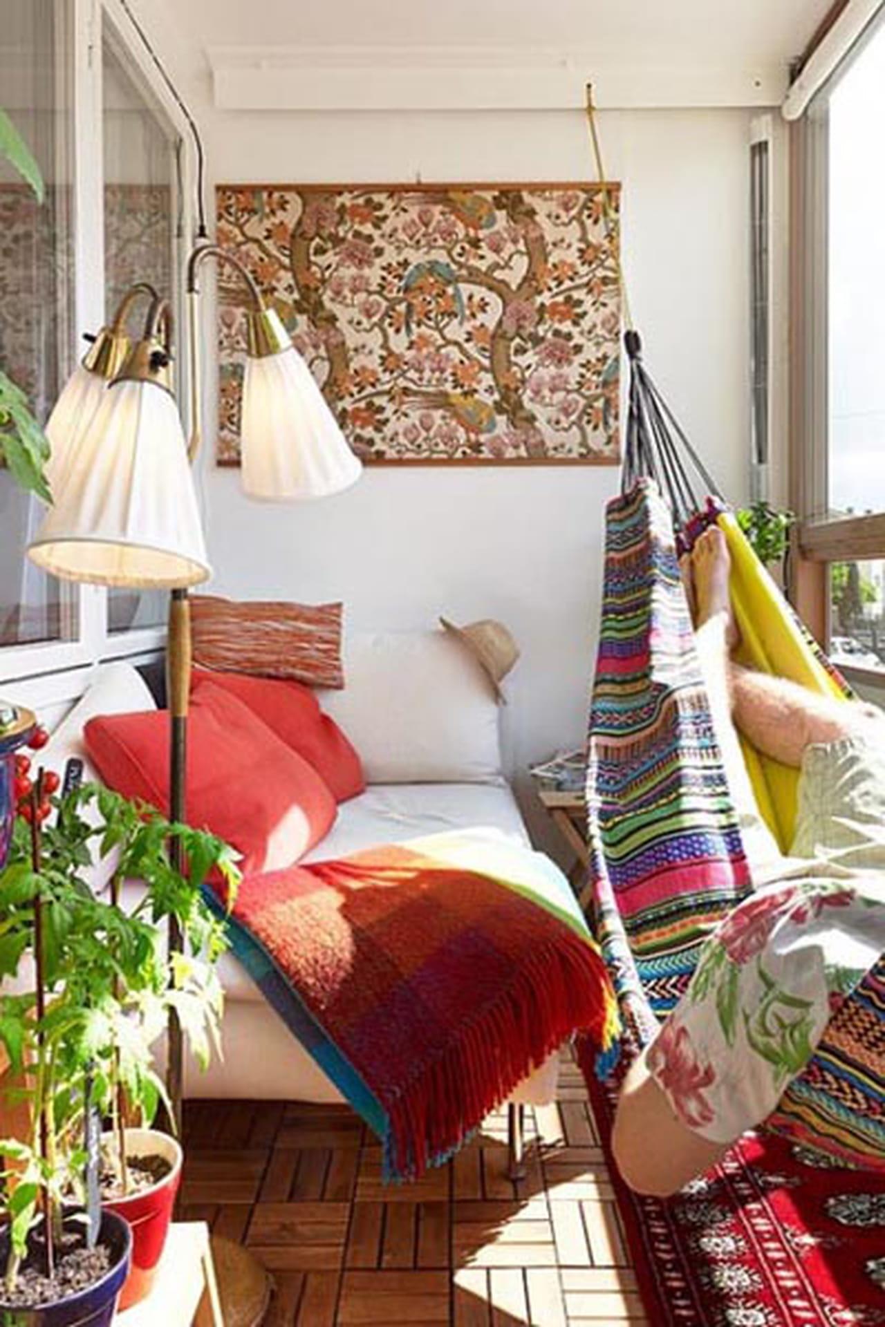 5 идей для анти-стресс балкона.