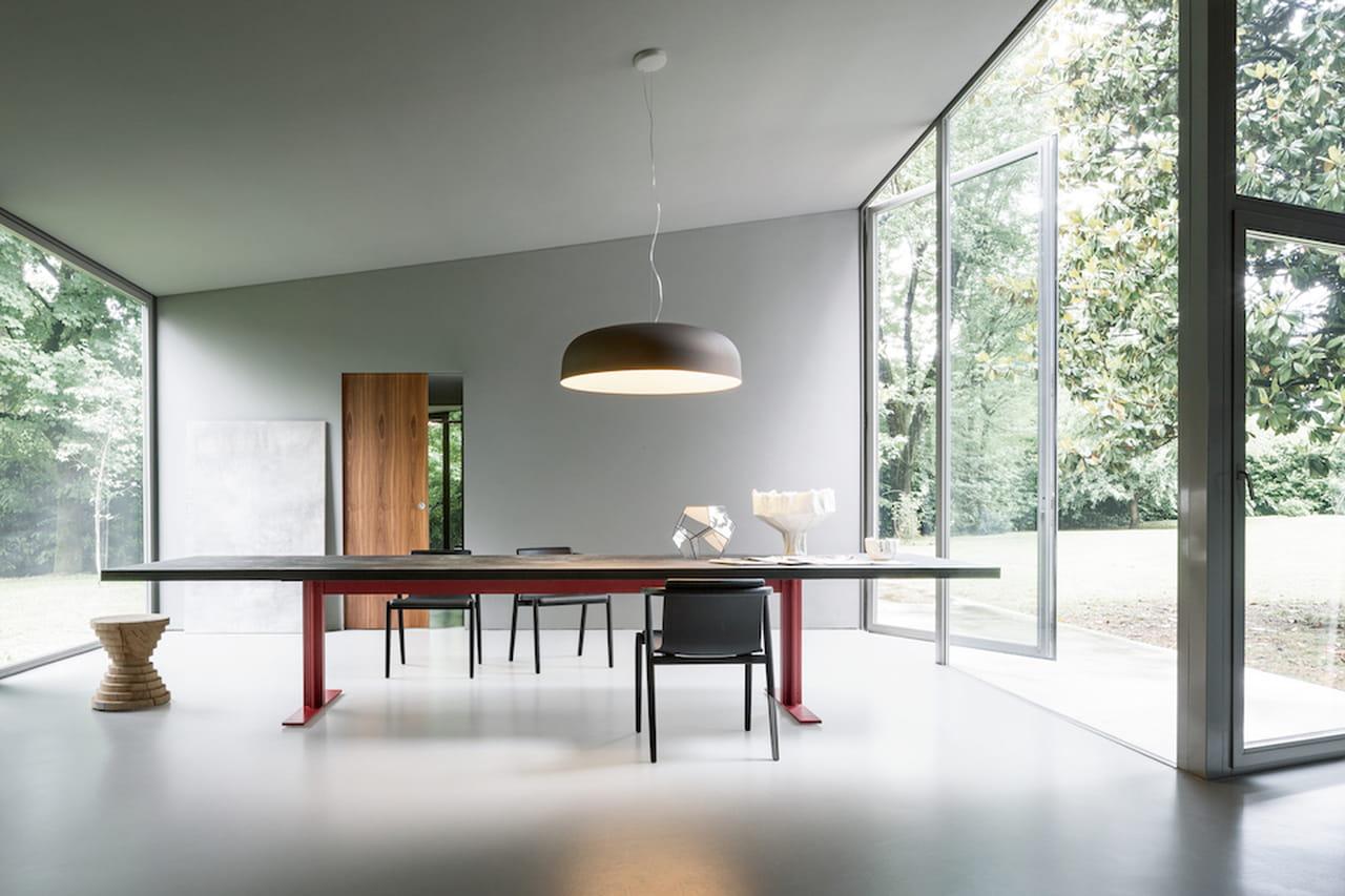 Sala da pranzo tavoli di design per tutti i gusti for Tavolo da pranzo design