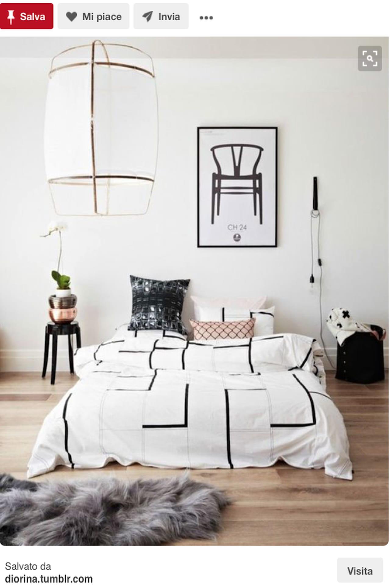 Testiera letto fai da te imbottita di legno idee da - Camere da letto tumblr ...