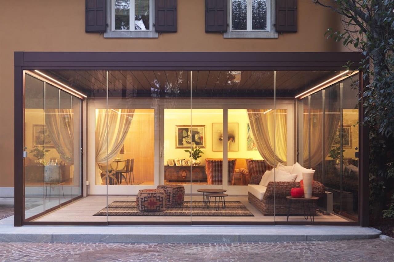 Perfect giardino duinverno o salotto with arredamento - Arredare giardino d inverno ...