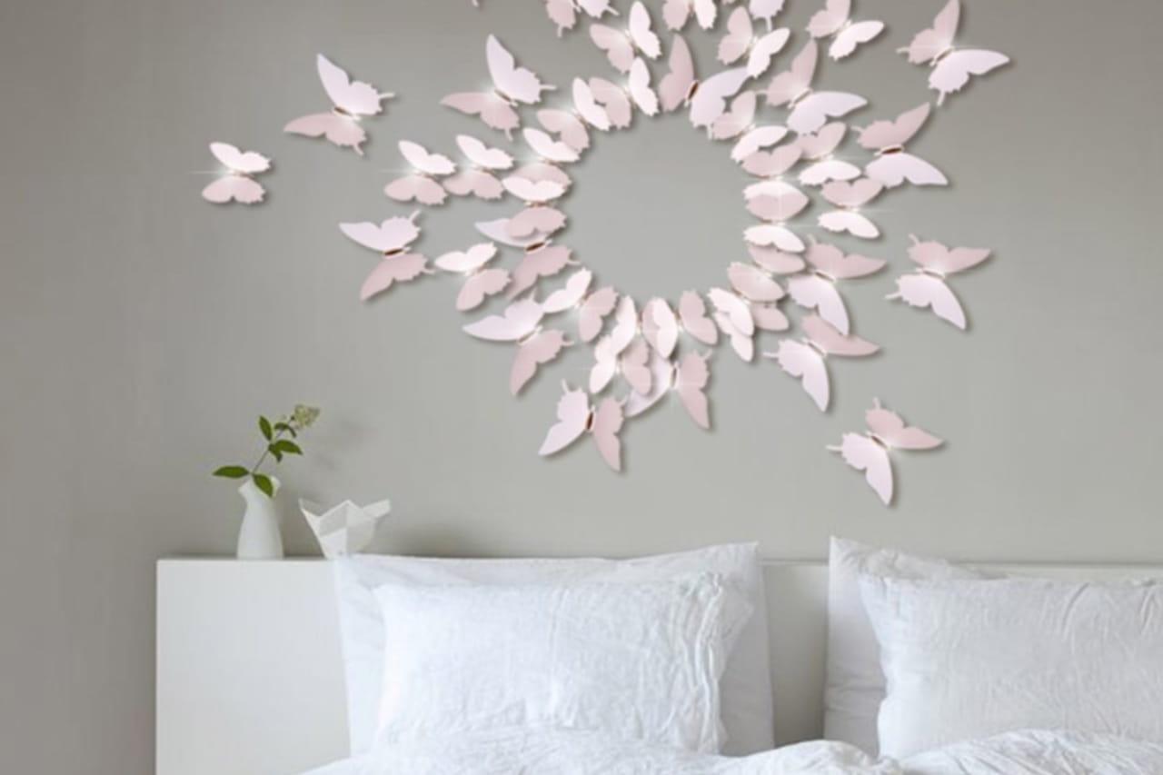 Decorazioni pareti adesivi per personalizzare i muri for Adesivi x pareti