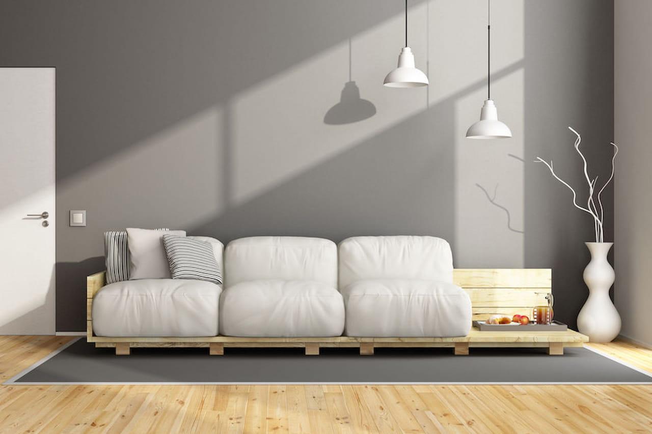 divano pallet creare con i bancali
