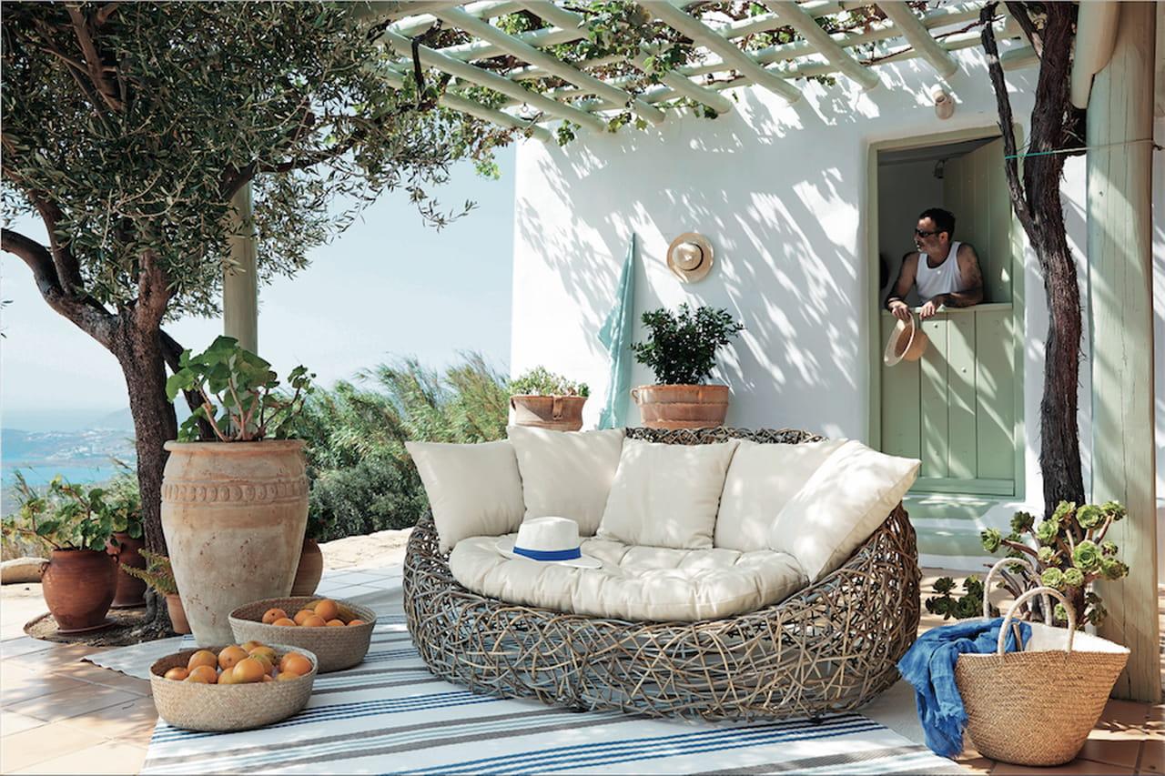 Tappeti esterno maison du monde idee per il design della casa - Maison du monde cuscini da esterno ...