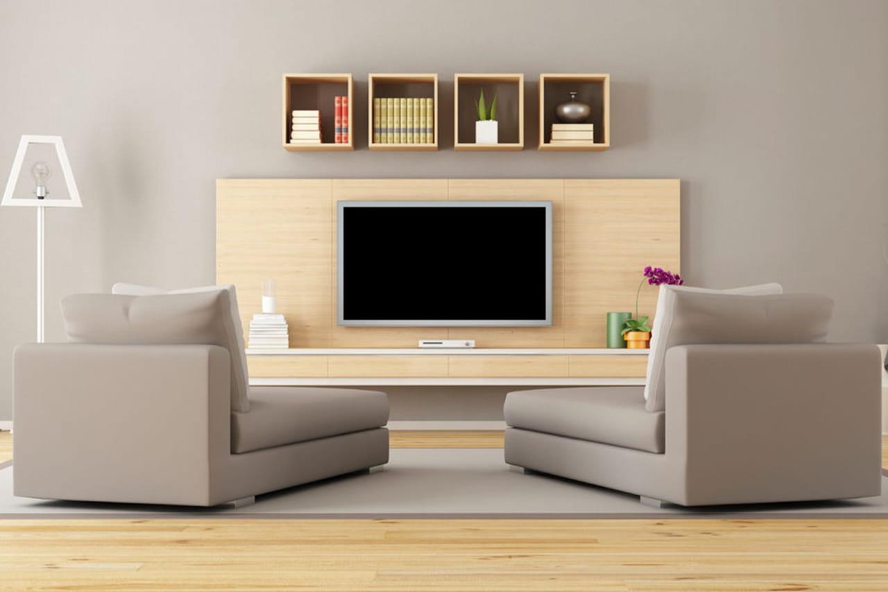 Come organizzare l'angolo TV