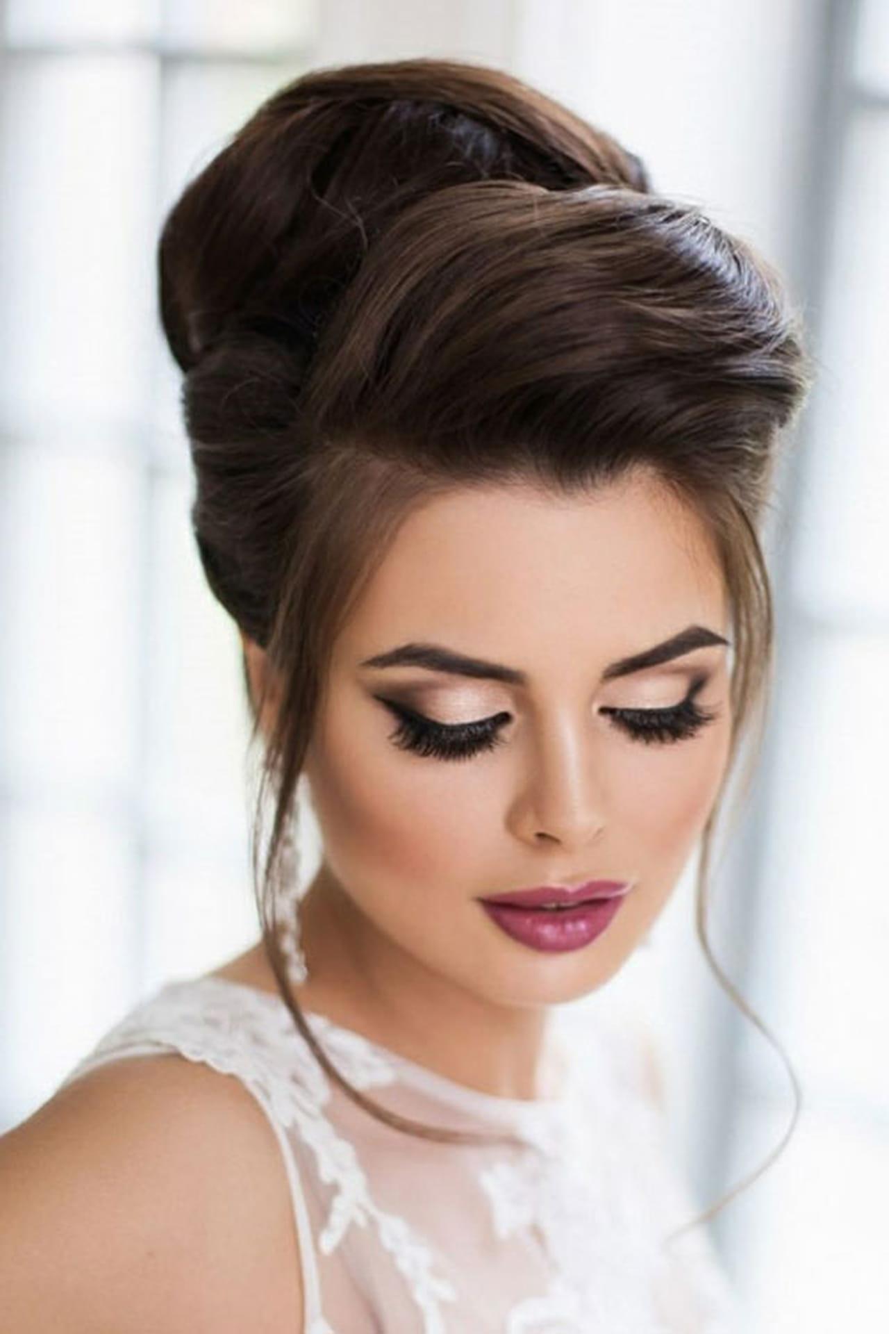 макияж прически видео