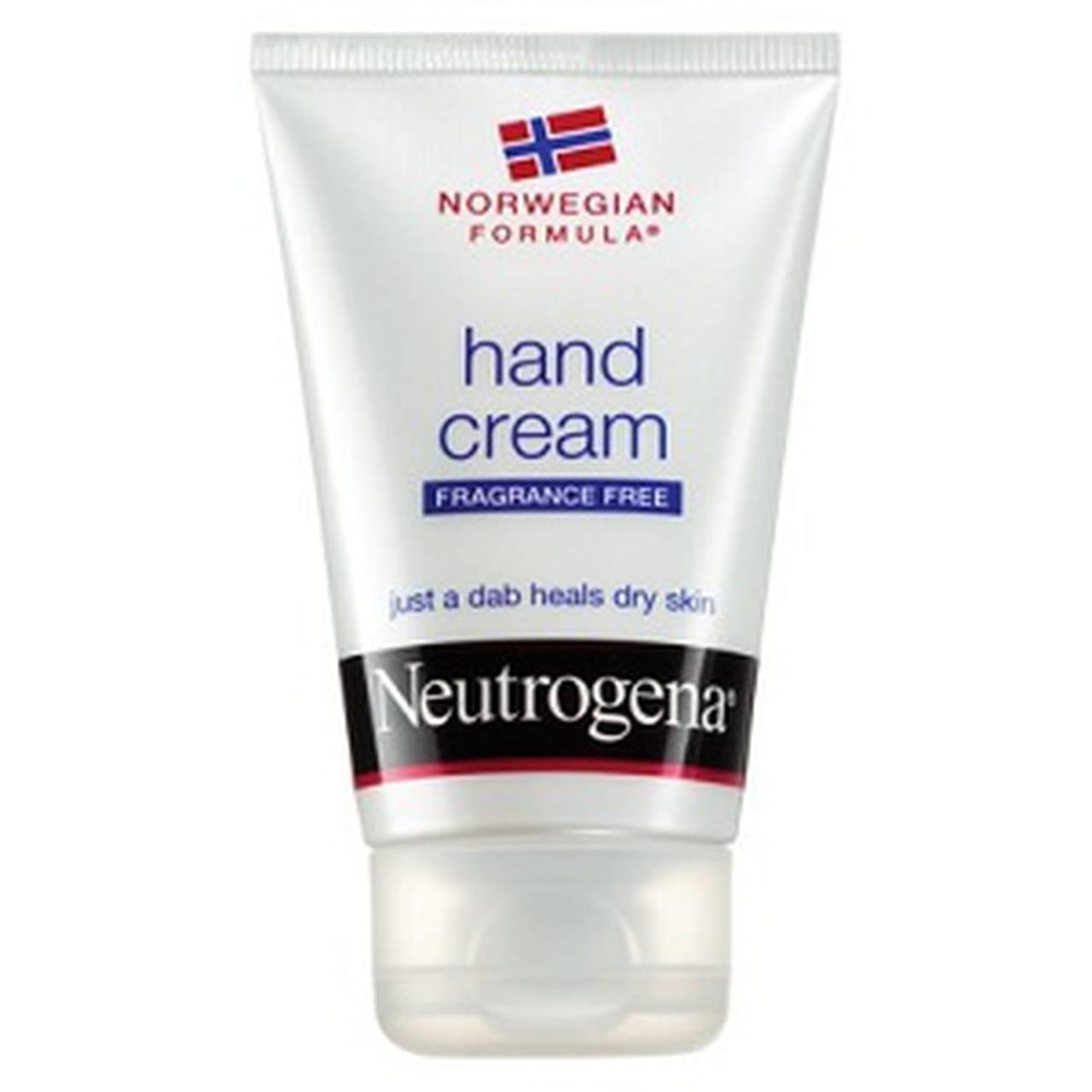 3e115779e 7- Neutrogena Norwegian Formula Fragrance Free. كريم مميز مع تركيبة غنية  لترطيب وحماية اليدين.