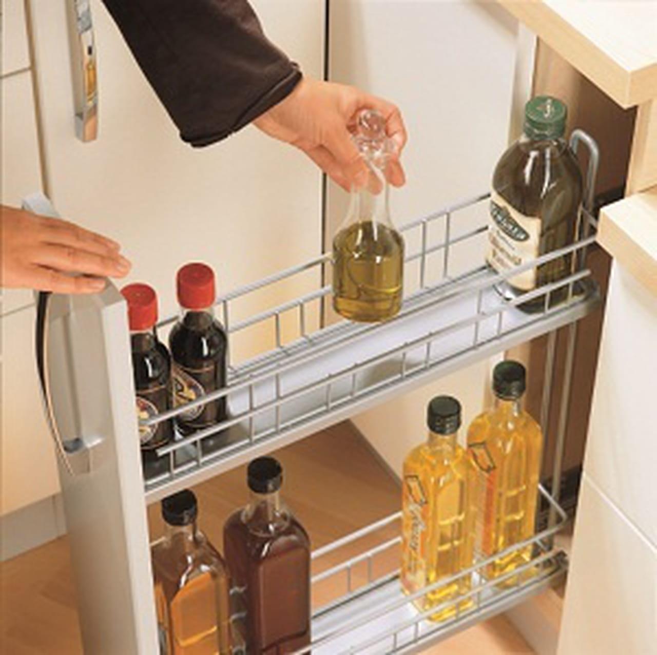 حلول عملية للتخزين والترتيب في المطبخ الصغير