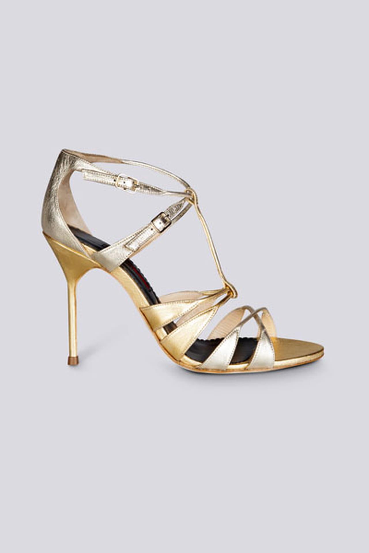 abe6dcfe8 حذاء أنيق من مجموعة كارولينا هيريرا Carolina Herrera لربيع وصيف 2014.